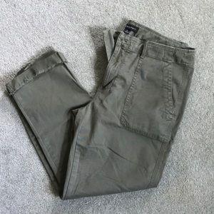 Banana Republic cropped cargo pants